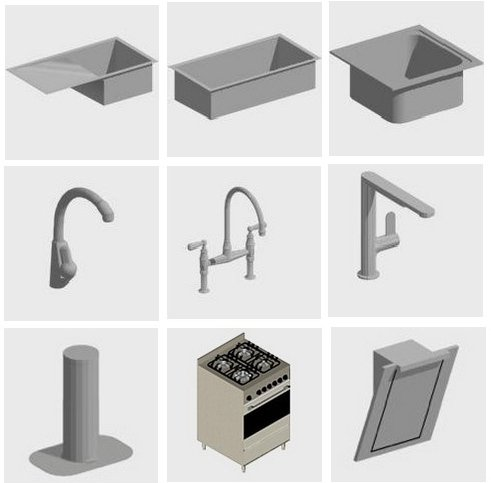 New sinks, faucets and other appliances