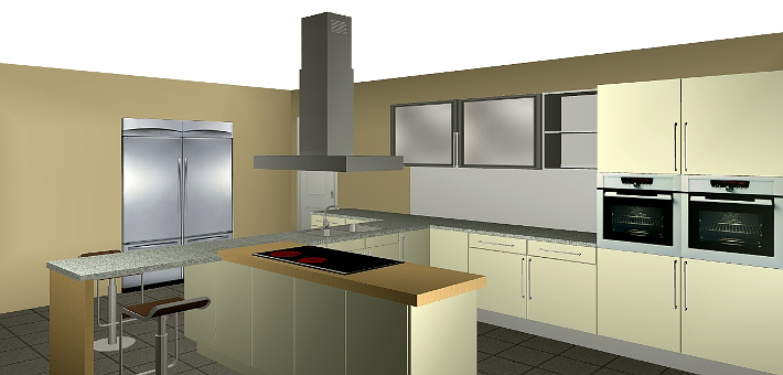 Main features of Quick3DPlan Express for Mac, the easiest and affordable 3D kitchen design software for standard kitchens.
