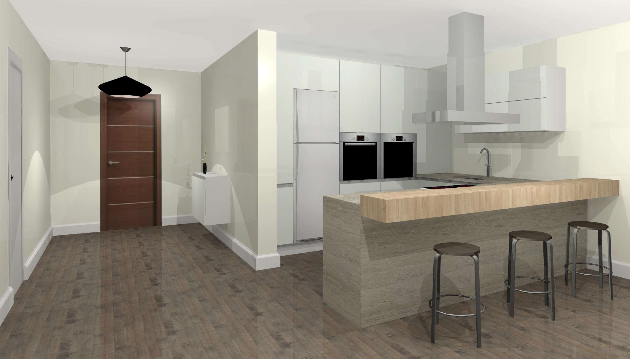 Main features of Quick3DPlan DS for Windows, easy and affordable professional 3D kitchen design software.