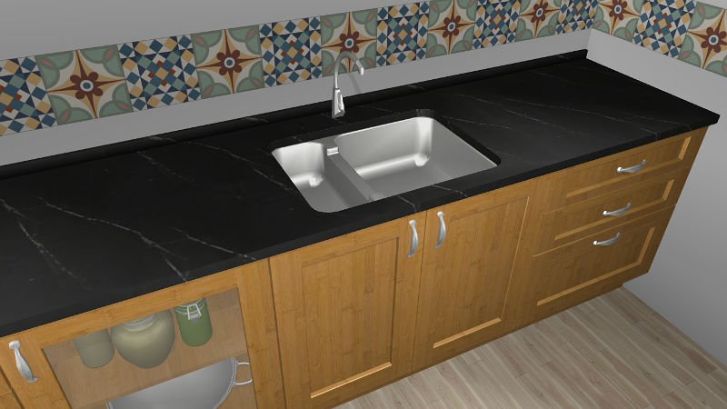 New integrated sinks