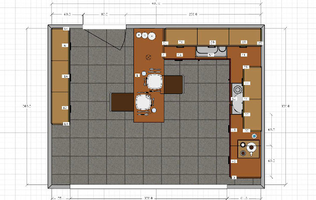 Kitchen plans photos